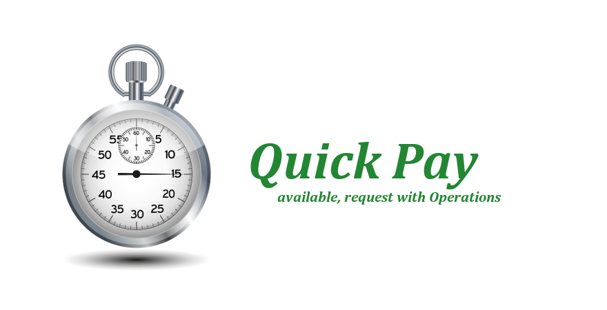 Freight Carrier Quick Pay